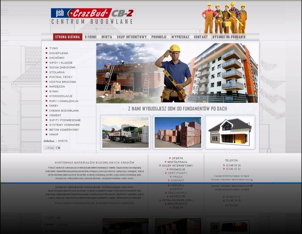 Hurtownia materiałów budowlanych Crazbud