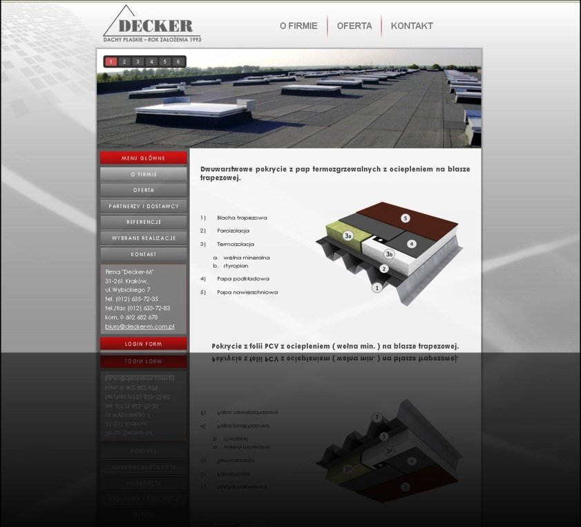 Decker-M - Wykonawca pokryć dachowych