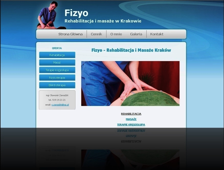 Fizyo - Terapia manualna