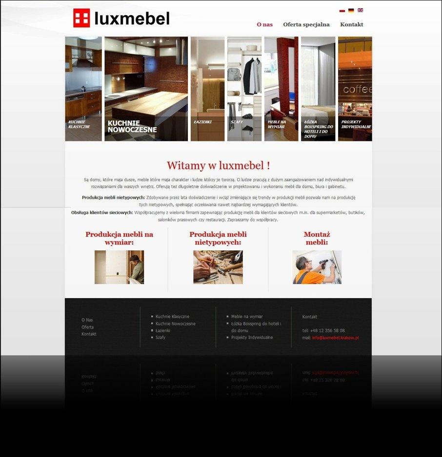 Luxmebel - Produkcja mebli na wymiar