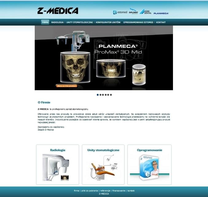 Z-Medica - Profesjonalny sprzęt stomatologiczny