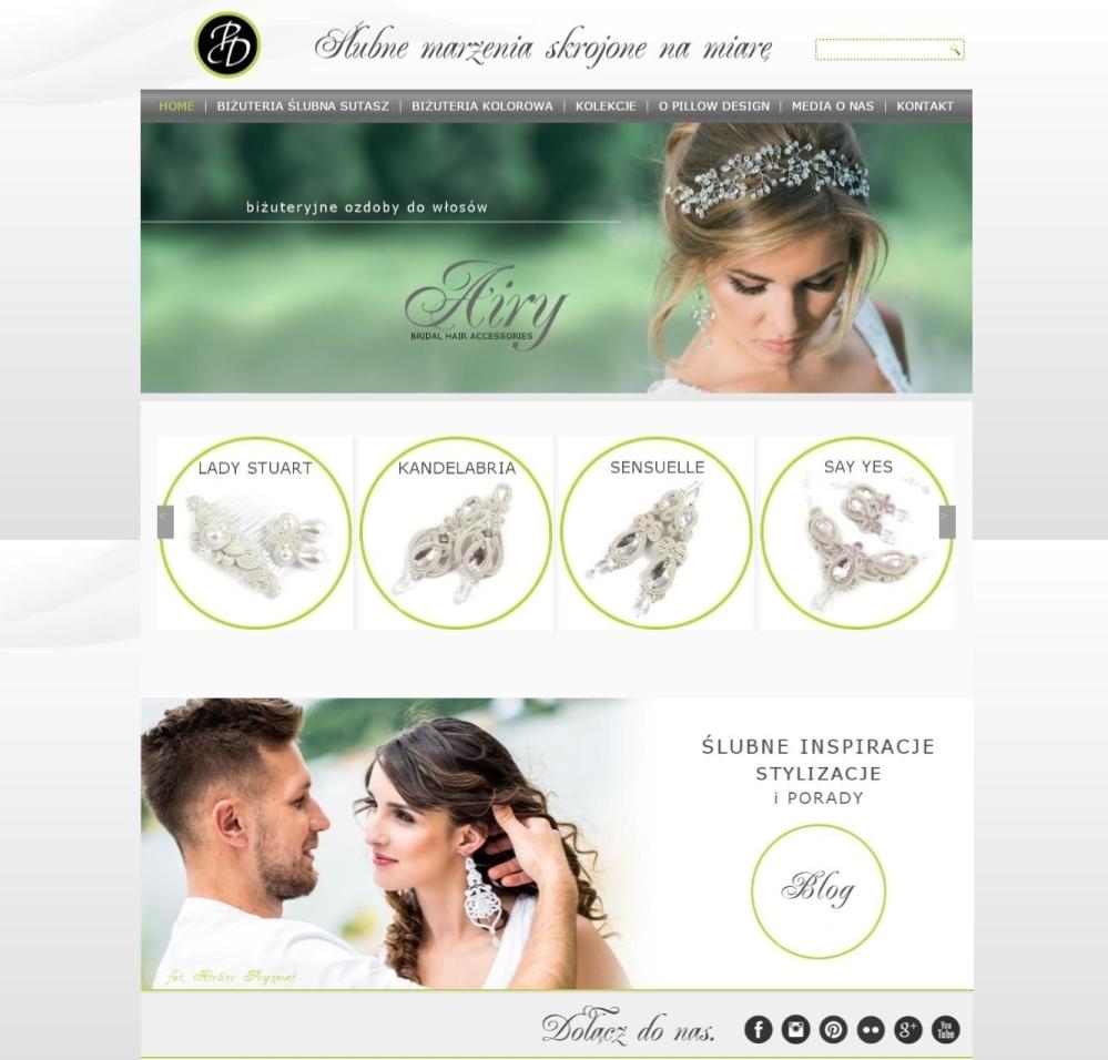 Pillow Design - Biżuteria ślubna i wieczorowa