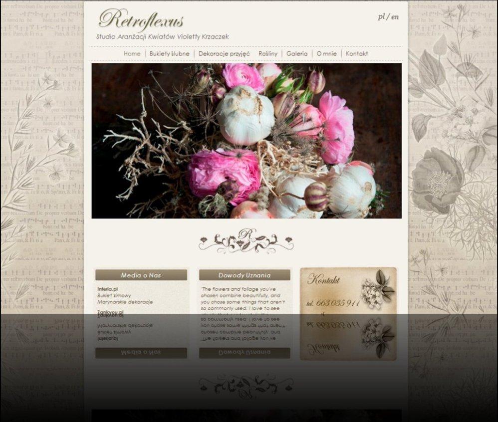 Studio aranżacji kwiatów
