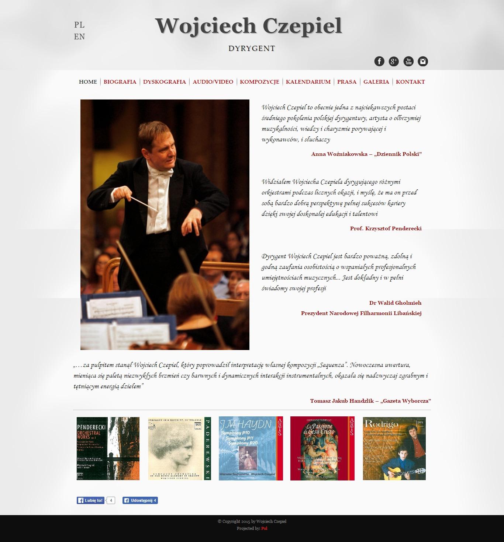 Dyrygent - Wojciech Czepiel